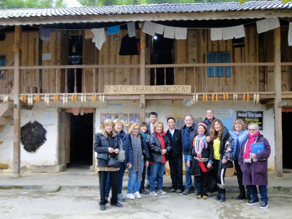 1ère nuit à l'UNESCO Géoparc de Dong Van